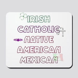 Example Personalized Nationality Mousepad