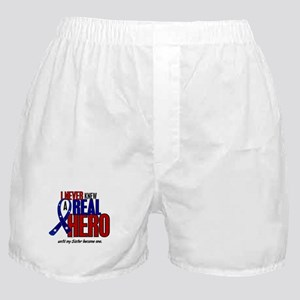 Never Knew A Hero 2 Military (Sister) Boxer Shorts