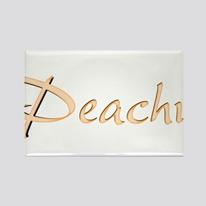 Peachy Rectangle Magnet