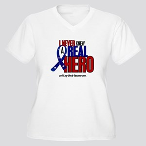Never Knew A Hero 2 Military (Uncle) Women's Plus