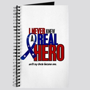 Never Knew A Hero 2 Military (Uncle) Journal