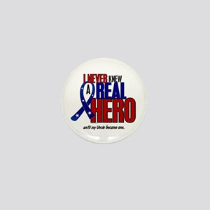 Never Knew A Hero 2 Military (Uncle) Mini Button
