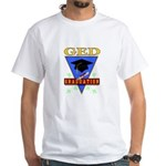 New Orleans Themed White T-Shirt