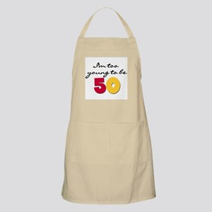 Too Young to be 50 BBQ Apron