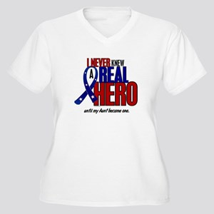 Never Knew A Hero 2 Military (Aunt) Women's Plus S