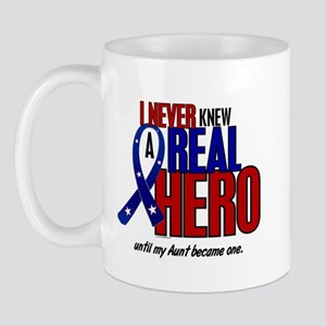 Never Knew A Hero 2 Military (Aunt) Mug