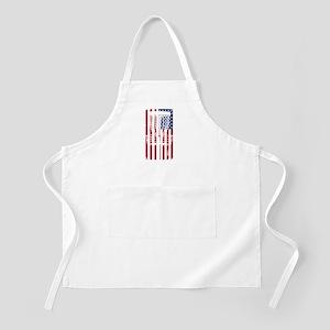 Disc GOlf American Flag Light Apron