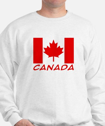 Canadian Flag Sweater
