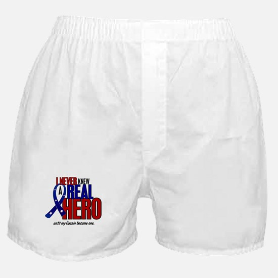 Never Knew A Hero 2 Military (Cousin) Boxer Shorts