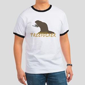Treefucker Beaver Ringer T