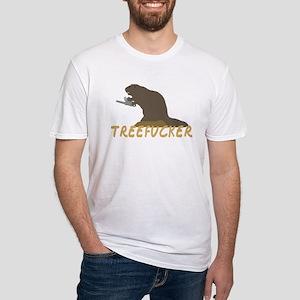 Treefucker Beaver Fitted T-Shirt