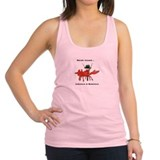 Lobsters and mobsters Womens Racerback Tanktop