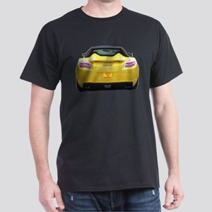 yell sky Cutout T-Shirt