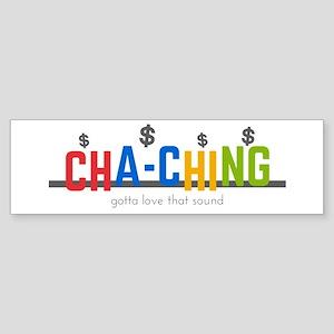 Cha-Ching Sound Bumper Sticker