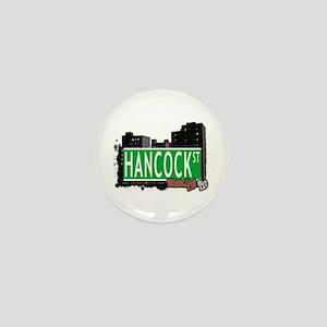 HANCOCK ST, BROOKLYN, NYC Mini Button