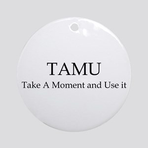 Tamu3 Ornament (Round)