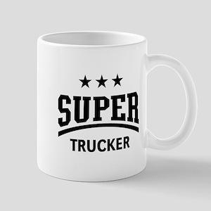 Super Trucker (Truck Driver / Truckman / Blac Mugs
