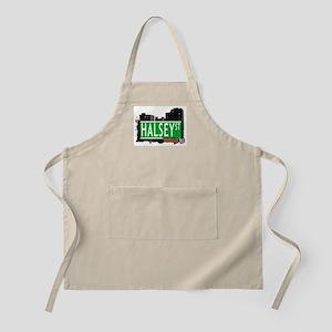 HALSEY ST, BROOKLYN, NYC BBQ Apron