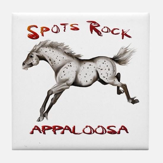 3_Spots Rock Tile Coaster