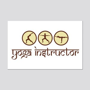 Yoga Instructor Mini Poster Print