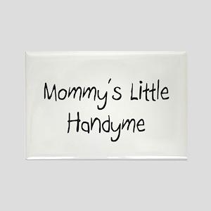 Mommy's Little Handyme Rectangle Magnet