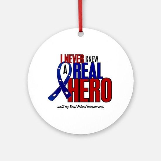 Never Knew A Hero 2 Military (Best Friend) Ornamen