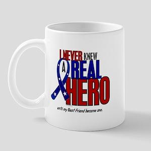 Never Knew A Hero 2 Military (Best Friend) Mug