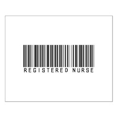 Registered Nurse Barcode Posters