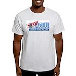 Stop the ACLU.com Ash Grey T-Shirt