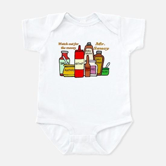Mr. Saucy Infant Bodysuit