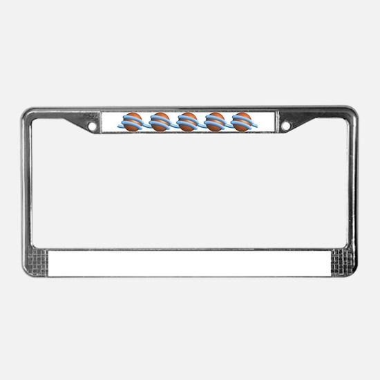 Unique Biology License Plate Frame