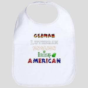 Personalized Nationality Bib