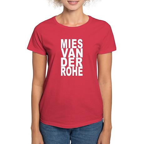 Mies van der Rohe Women's Dark T-Shirt