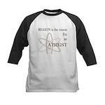 REASON IS THE REASON ATHEIST Kids Baseball Jersey