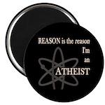 REASON IS THE REASON ATHEIST Magnet