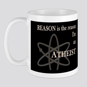 REASON IS THE REASON ATHEIST DARK Mug