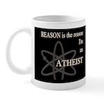REASON IS THE REASON ATHEIST DARK Mug