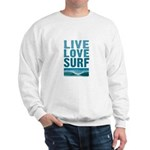 Live, Love, Surf - Sweatshirt