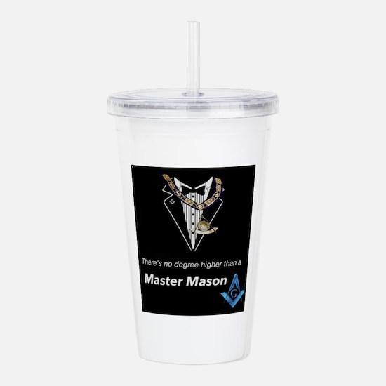 Master Mason Acrylic Double-wall Tumbler