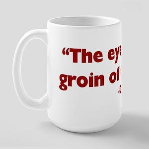 Groin of the Head Large Mug