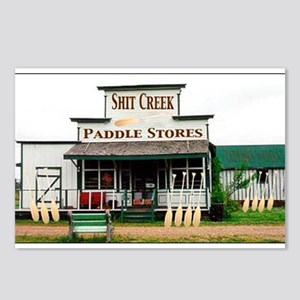 Shit's Creek Paddle Store Postcards (Package of 8)
