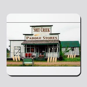Shit's Creek Paddle Store Mousepad