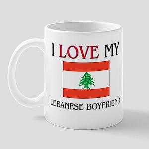I Love My Lebanese Boyfriend Mug