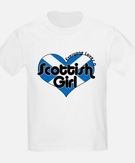 Scottish Girl T-Shirt