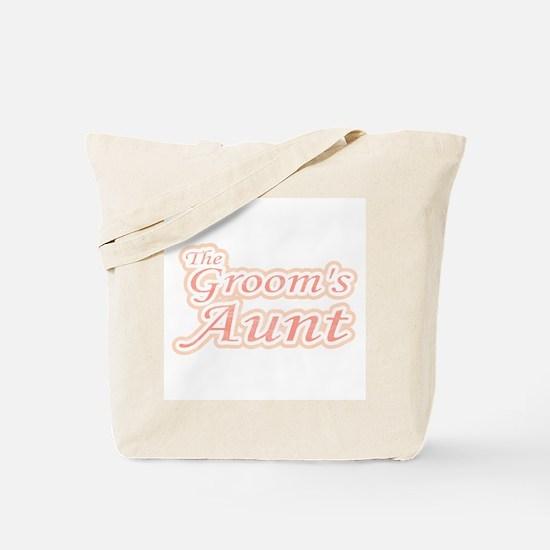 Groom's Aunt Tote Bag