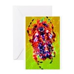 Funky Spider Greeting Card