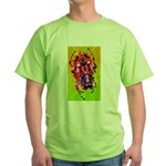 Funky Spider Green T-Shirt