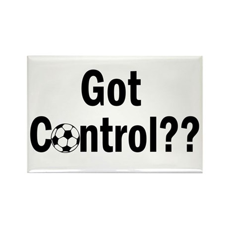 Got Control Rectangle Magnet