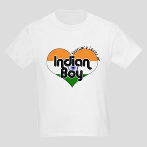 Indian Boy Kids Light T-Shirt