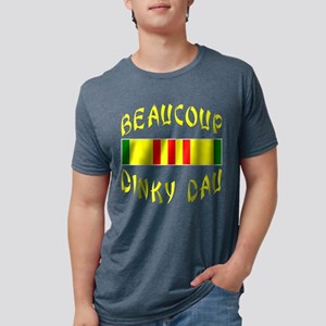 Beaucoup Dinky Dau Mens Tri-blend T-Shirt
